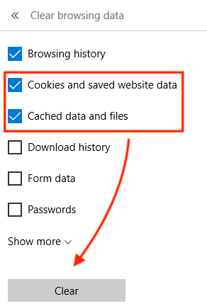 Clearing Browser Cache – ETS Knowledge Base