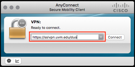 Cisco AnyConnect VPN using MFA – ETS Knowledge Base
